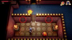 link's awakening golden leaf locations