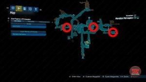 meridian metroplex where to find red chest all locations borderlands 3