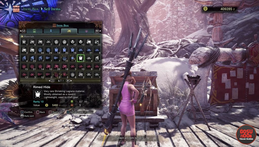 mhw deathweaver membrane scratched shell fulgurbug rimed hide locations