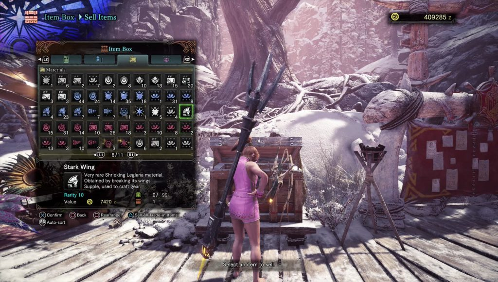 mhw eternal regrowth plate dash extract stark wing flickering silvershell