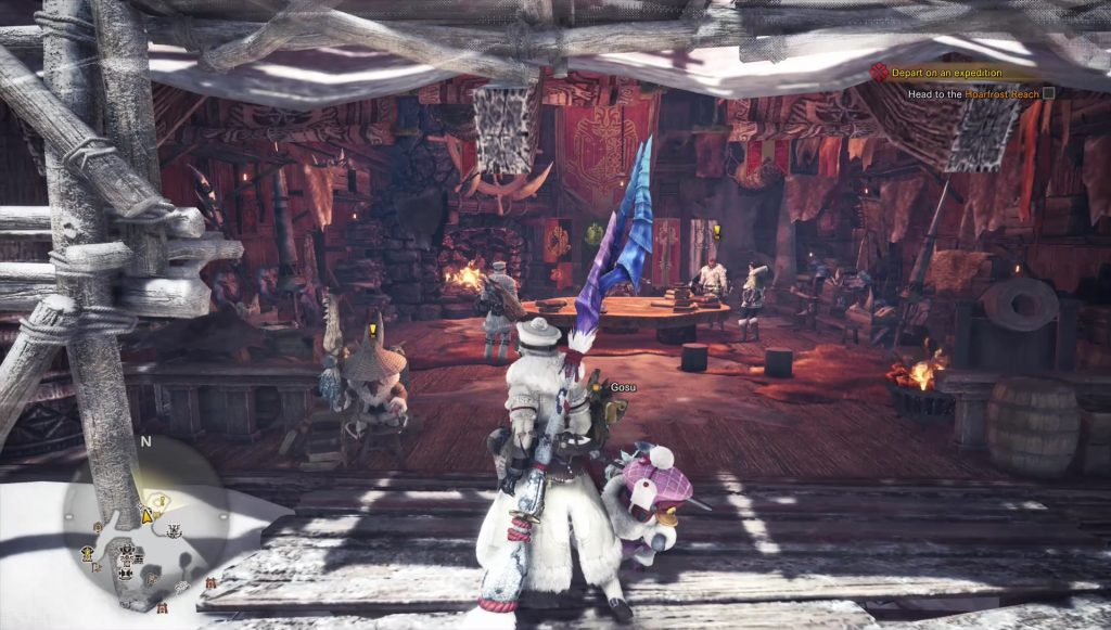 mhw iceborne how to get hoarfrost palico gadget tailrider signal skill