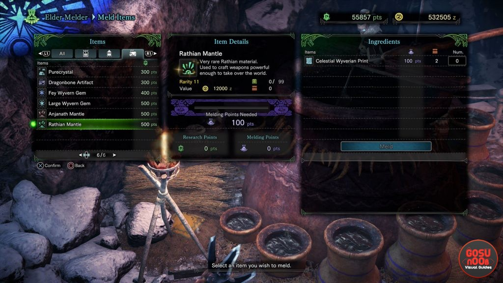 mhw iceborne monster mantles how to get