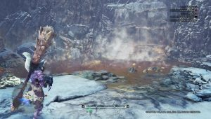 MHW Iceborne Treasure in The Steam - Thermae Hot Springs