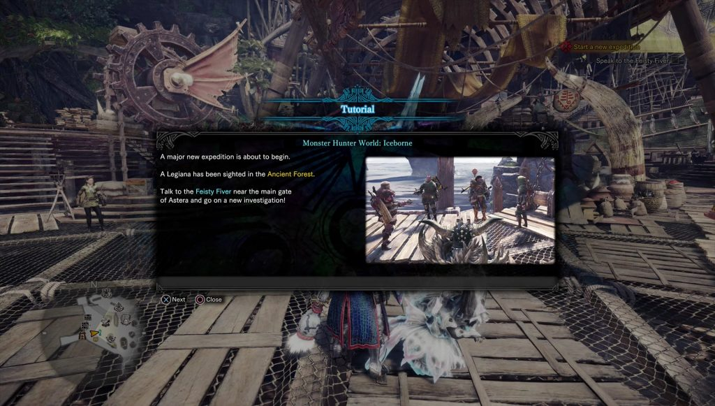 monster hunter world how to start iceborne dlc quest