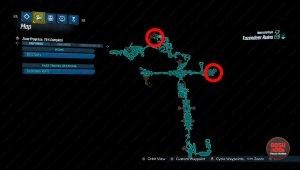 tazendeer ruins red chest locations map borderlands 3