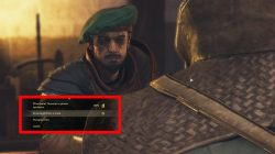 what to choose with guard vendor in greedfall coin guard merchandise quest