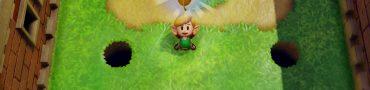 zelda link's awakening golden leaf locations