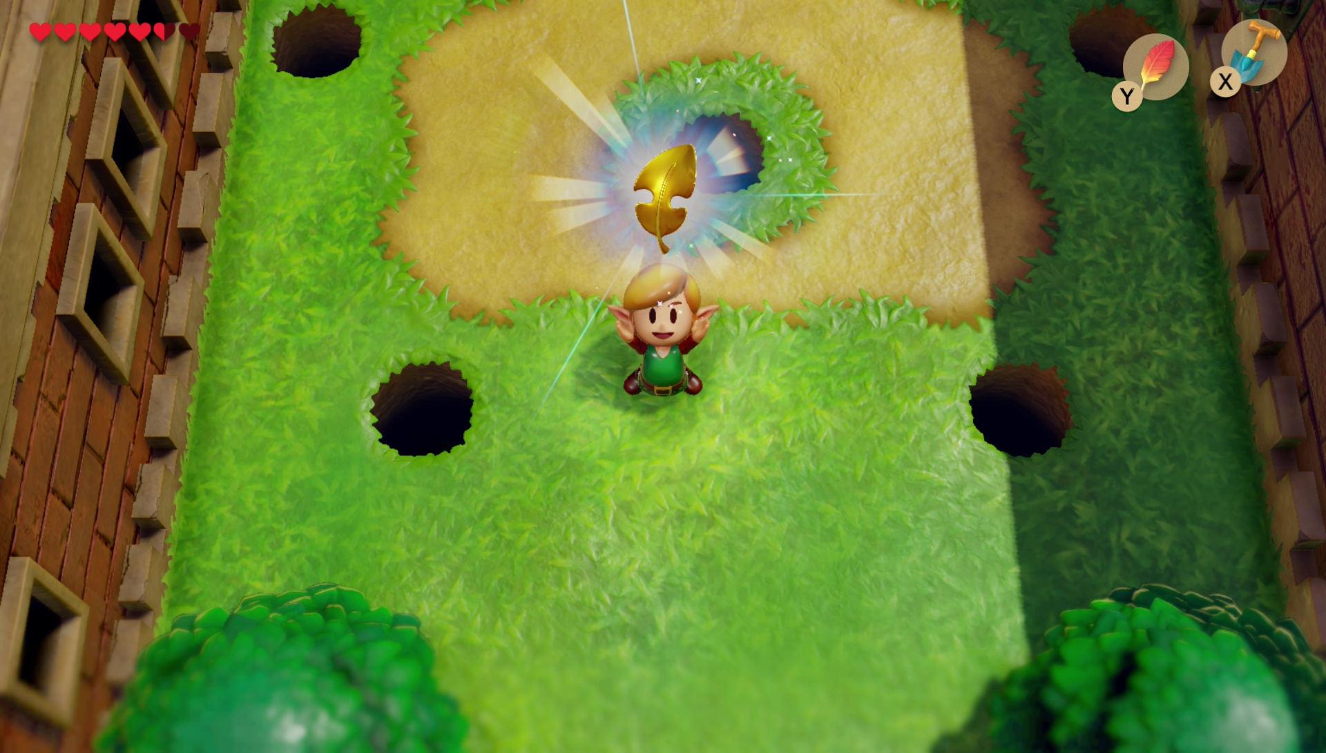 Zelda Link's Awakening Golden Leaf Locations - Locked Door ...