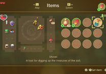 zelda link's awakening how to dig where to find shovel