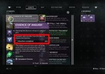 Destiny 2 Essence of Anguish Quest How to Complete 3 Bounties