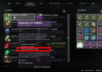 Destiny 2 Ethereal Charms Essence of Greed Fine Memorial Quest