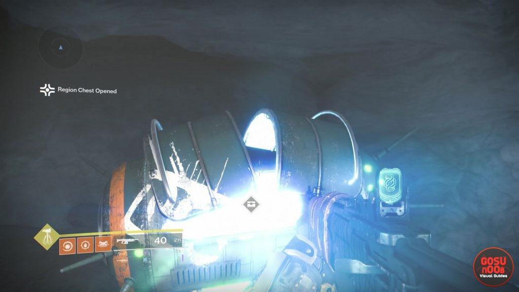 Destiny 2 Shadowkeep Moon Region Chest Locations