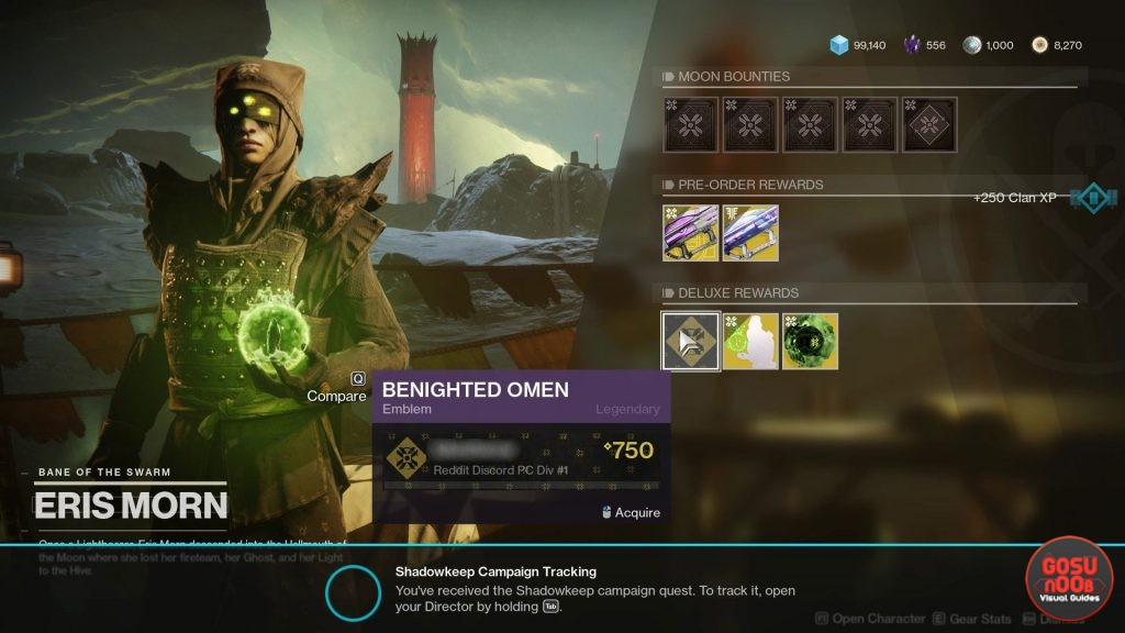 Destiny 2 Shadowkeep Preorder Bonuses & Deluxe Items - Where to Find