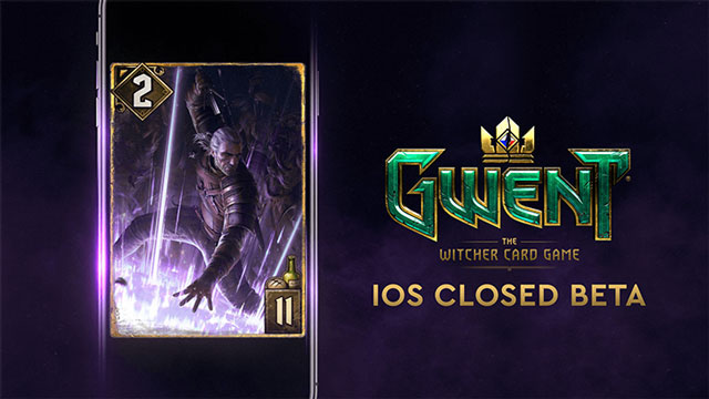 Gwent The Witcher Card Game Closed Beta Launches on iOS