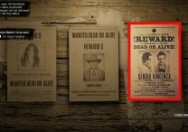 Red Dead Online Legendary Bounty Sergio Vincenza Location