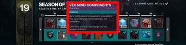 Vex Mind Components Destiny 2 What Do They Do