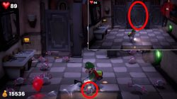 billiard room rat luigis mansion 3 how to capture mouse