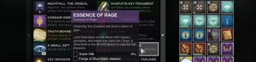 destiny 2 fangs of shun'gath location essence of rage one small step