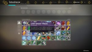 destiny 2 lost ghost trace