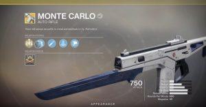 destiny 2 monte carlo exotic auto rifle