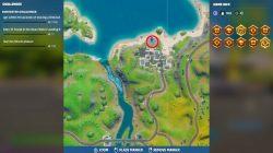 fortnite hidden o location open water