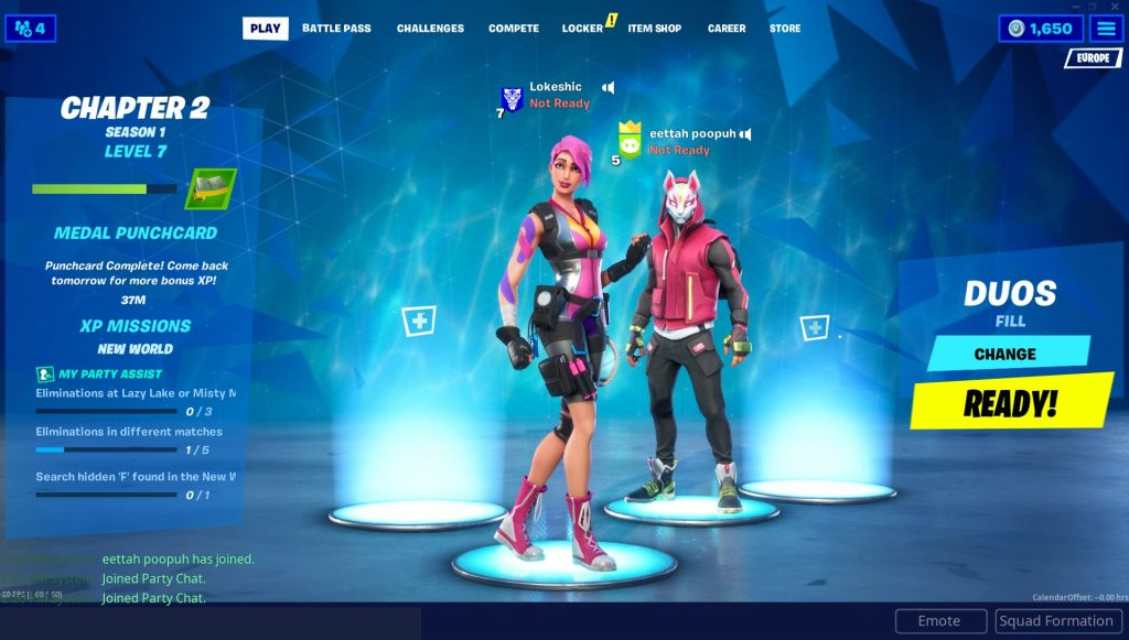 fortnite how to play with bots on purpose