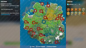 Fortnite Upgrade Benches Map Locations Upgrade Weapon