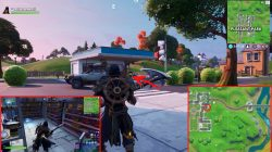 fortnite upgrade bench pleasant park