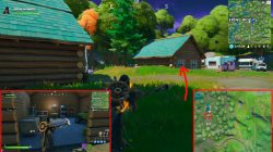 fortnite weeping woods bench location