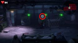 Luigi Mansion Green Diamond Gem The Basement Washing Machine
