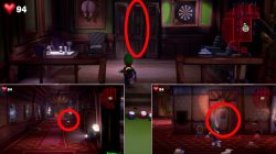 how to catch billiards room mouse luigis mansion 3 rat