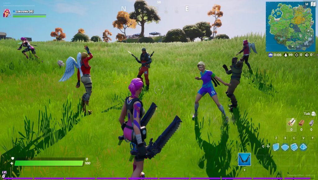 how to tell if someone is a bot in fortnite