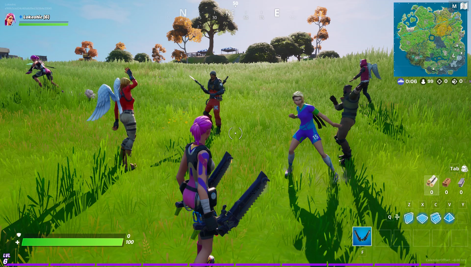 Whats The Atlast Im Free Fortnite Fortnite How To Tell If Someone Is A Bot