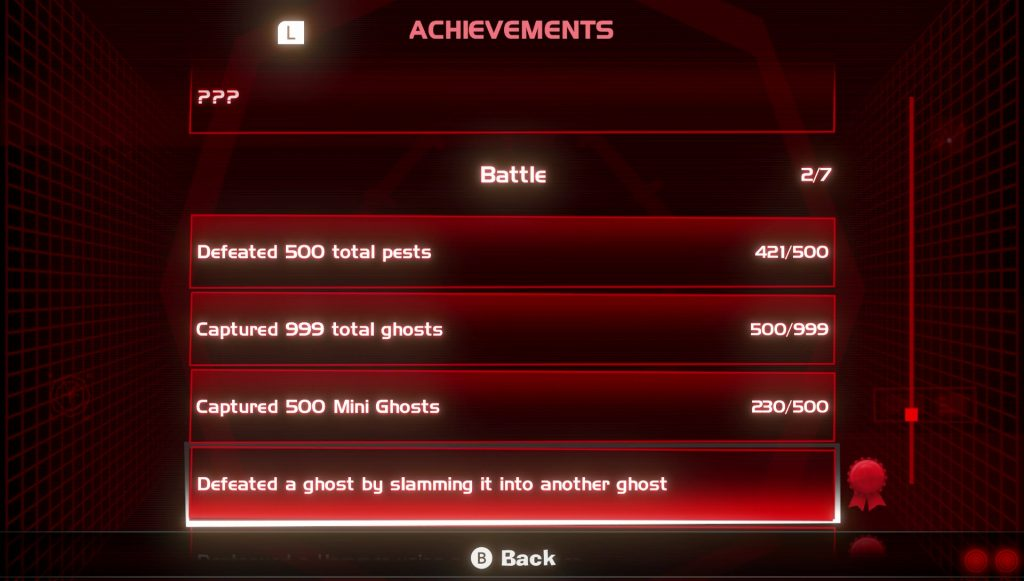 luigi's mansion 3 achievements