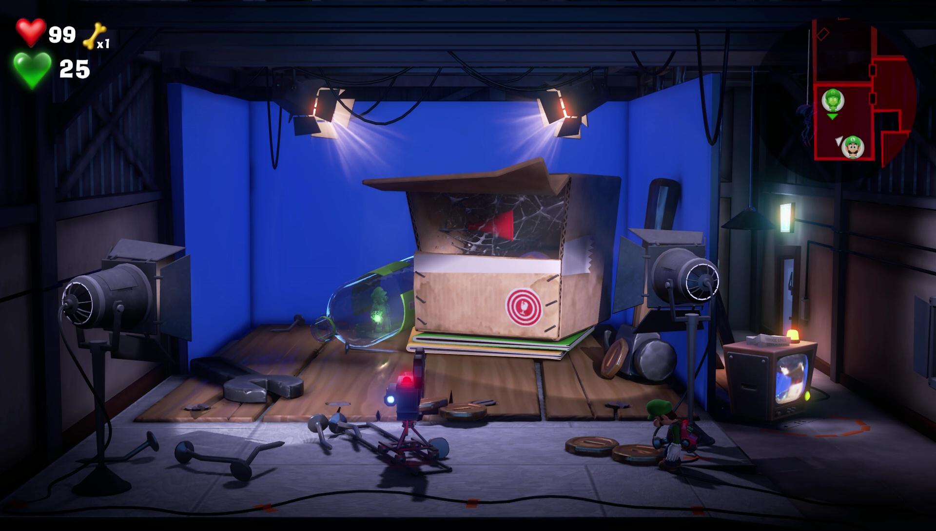 Luigi's Mansion 3 Burn Spiderwebs