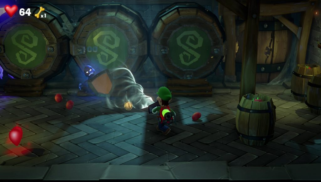 luigi's mansion 3 how to beat shield ghost in castle