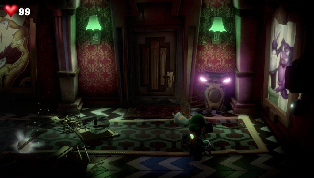 luigi's mansion 3 how to defeat cursed chest bin floor 11