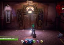 luigi's mansion 3 how to get green blue gem diamond hotel lobby