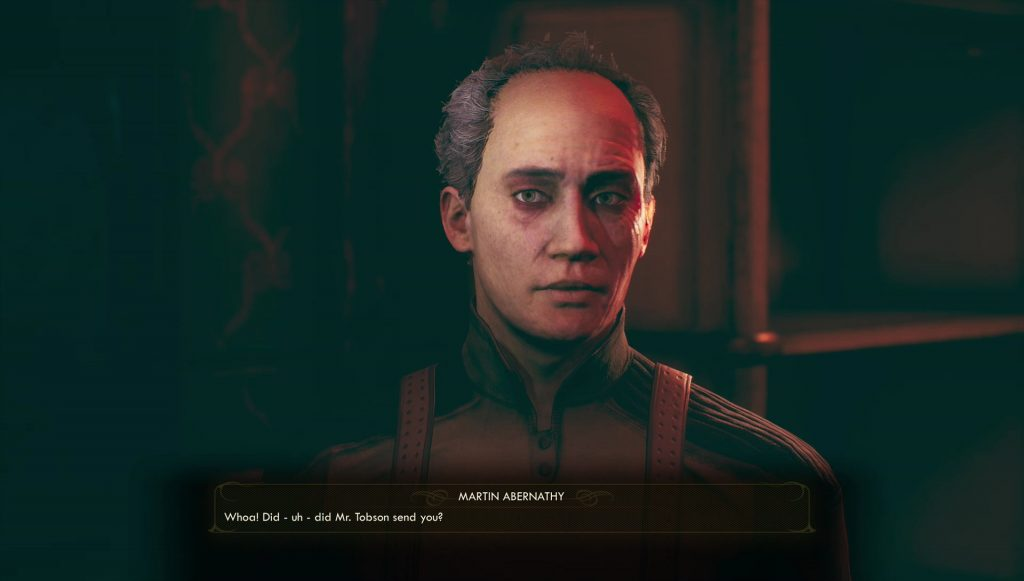 outer worlds give medicine to esther or abernathy