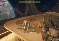 outer worlds how to use hologram id cartridge holographic shroud
