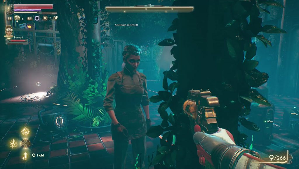 outer worlds power to edgewater or botanical choice comes now the power quest