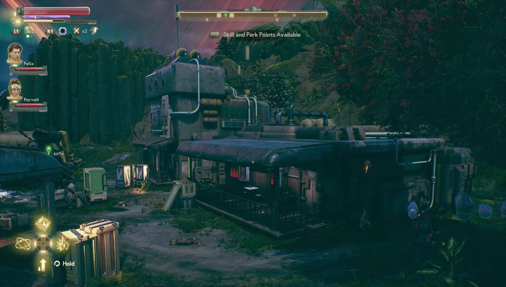 outer worlds sealed door abandoned spacer's choice settlement