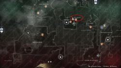 the orrery lost sector location divine fragmentation vex core location