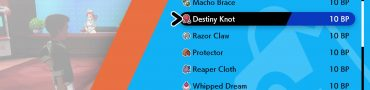Destiny Knot Location in Pokemon Sword & Shield