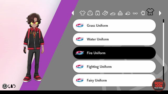 Get Clothes with Fiery Design in Pokemon Sword & Shield