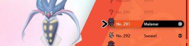 How to Evolve Inkay into Malamar in Pokemon Sword & Shield