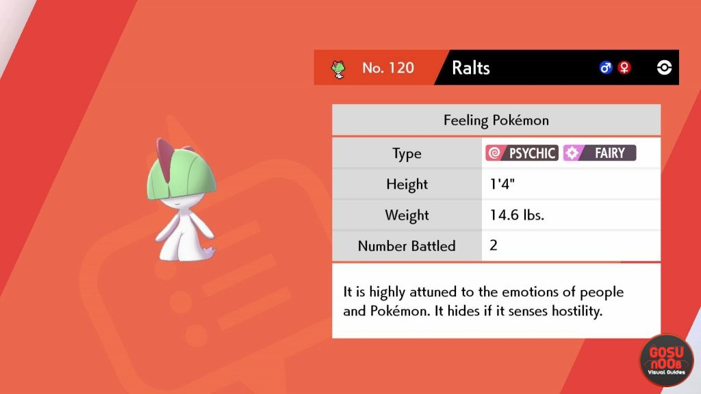 How to Get Ralts in Pokemon Sword & Shield