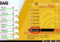 Love Ball Location in Pokemon Sword & Shield