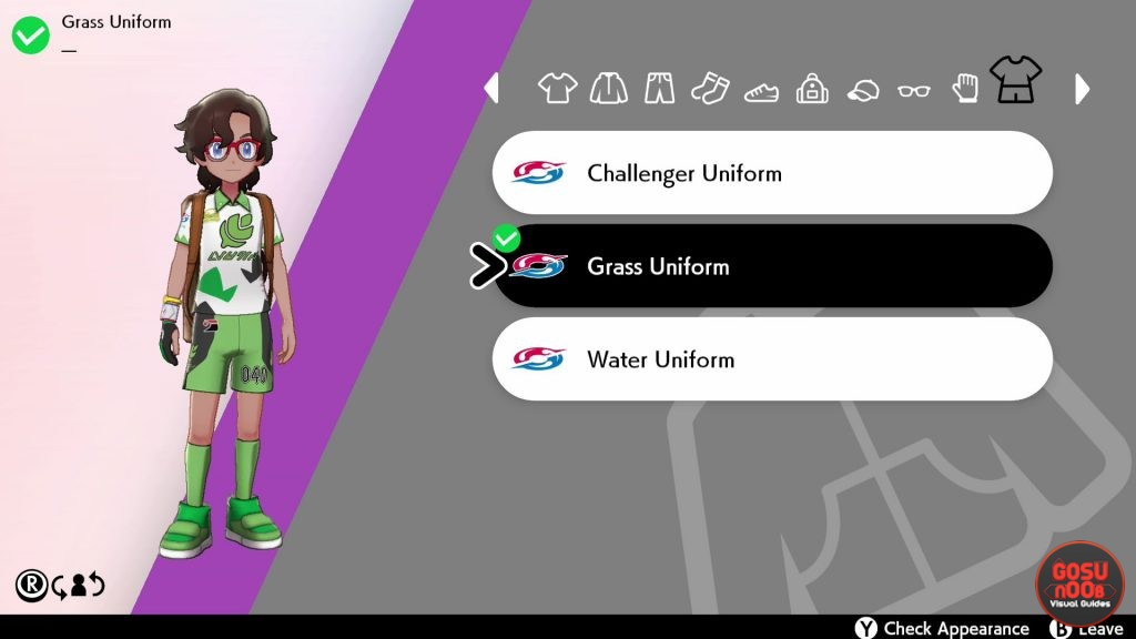 Pokemon Sword & Shield Change Uniform & Buy Clothes