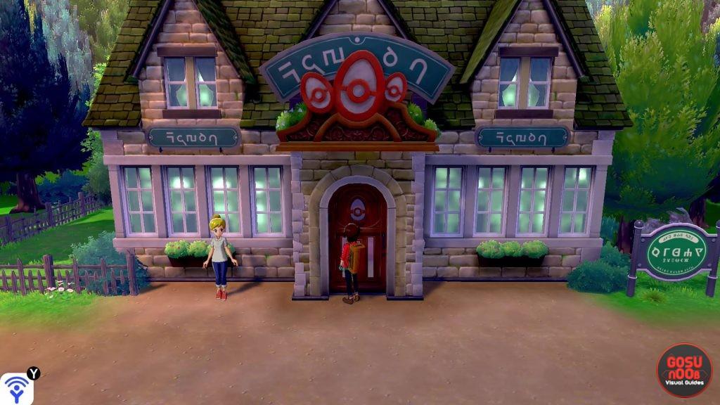Pokemon Sword & Shield First Nursery Location Unlock Breeding